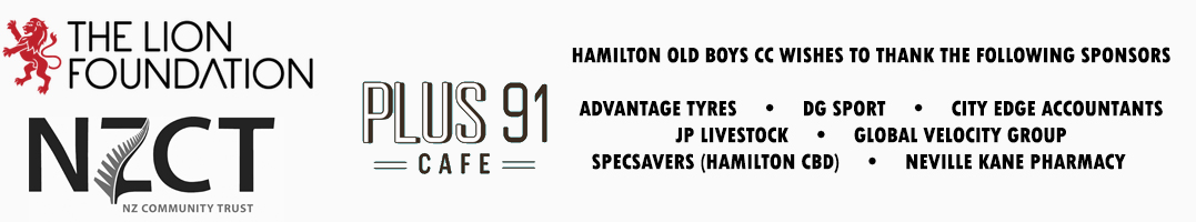 Hamilton Old Boys C C  – founded 1914